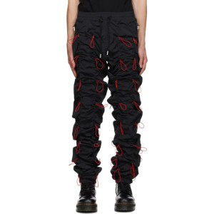 99% IS Black and Red Gobchang Lounge Pants