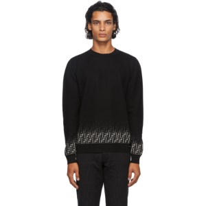 Fendi Black Degrade Forever Fendi Sweater