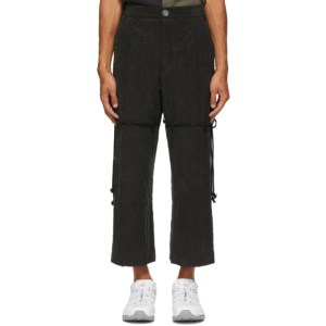 Song for the Mute Black Work Trousers