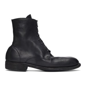 Guidi Black 995 Lace-Up Boots