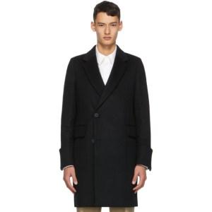 Wooyoungmi Black Wool Long Coat