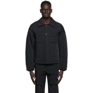 Wooyoungmi Black Nylon Jacket