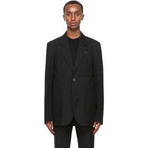 Wooyoungmi Black Wool Blazer