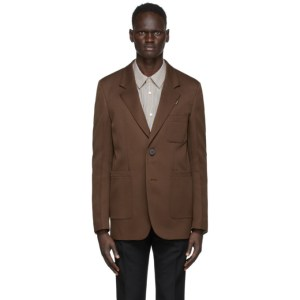 Wooyoungmi Brown Two-Button Blazer