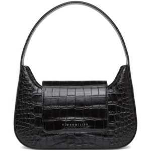 Simon Miller Black Croc Retro Bag