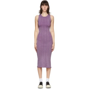 Simon Miller Purple Benny Rib Tank Dress