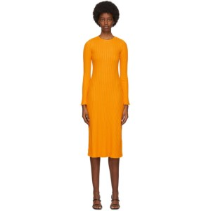 Simon Miller Yellow Wells Mid-Length Dress