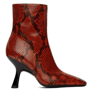 Simon Miller Red Lizard Foxy Boots