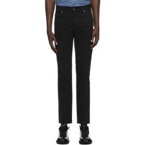 Moschino Black Big Label Jeans