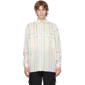 Moschino White Stripe Fantasy Shirt