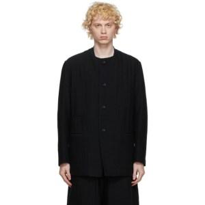 Issey Miyake Men Reversible Black Wool Jacket