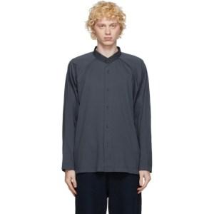 Homme Plisse Issey Miyake Grey Jersey Shirt