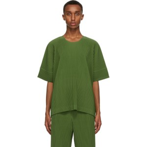 Homme Plisse Issey Miyake Green Monthly Colors September T-Shirt