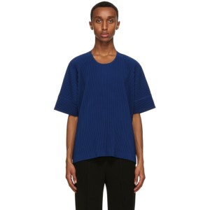 Homme Plisse Issey Miyake Blue Monthly Colors September T-Shirt