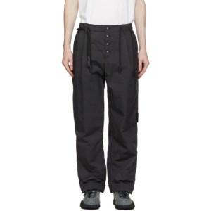 Craig Green Black Fold Trousers