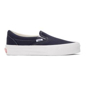 Vans Navy OG Classic Slip-On Sneakers