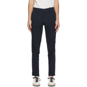 Blue Blue Japan Navy Shadow Square Trousers