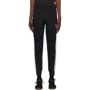 adidas Originals Black 3-Stripes Lounge Pants