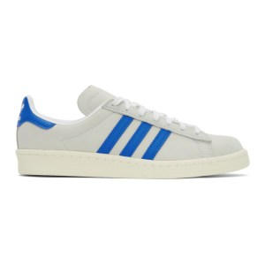 adidas Originals Off-White Nubuck Campus 80s Sneakers