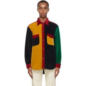 Wales Bonner Multicolor Notting Hill Patchwork Shirt