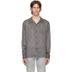 John Elliott Grey Seville Shirt
