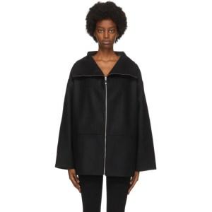 Toteme Black Wool Menfi Jacket