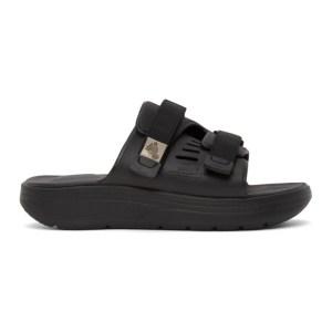 Suicoke Black Urich Sandals