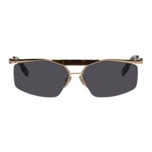 Dior Gold DiorPsychodelic Sunglasses