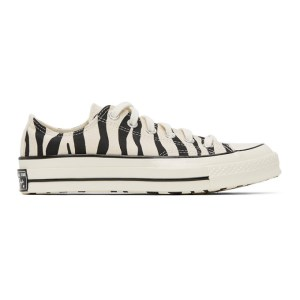 Converse Off-White Zebra Chuck 70 Low Sneakers