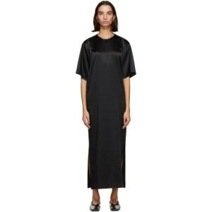 Julia Jentzsch Black Silk Yohji Dress