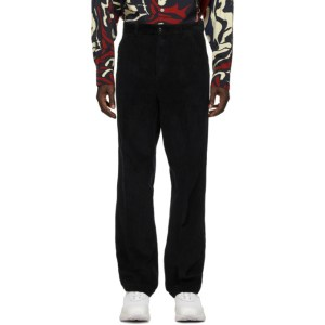Our Legacy Black Corduroy Chino 22 Trousers