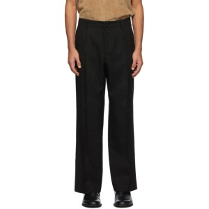 Our Legacy Black Wool Borrowed Trousers