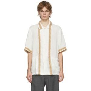 Our Legacy White Elder Short Sleeve Shirt