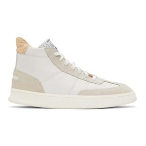 Spalwart White Smash High Sneakers