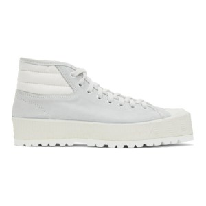 Spalwart Grey Mid Pad Sneakers