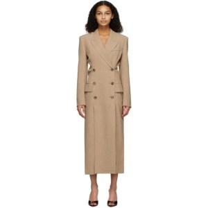 Nanushka Beige Ellen Blazer Dress