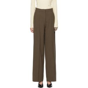 Nanushka Brown Cleo Trousers
