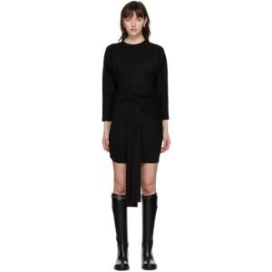Vejas Black Bodycon Dress