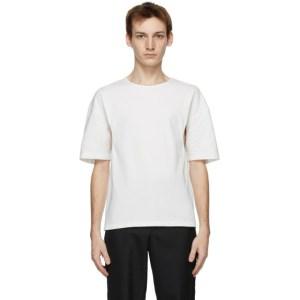 Vejas White Underarm Cut-Out T-Shirt