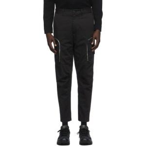 Stone Island Shadow Project Black Zip Cargo Pants