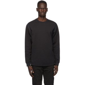 Stone Island Shadow Project Black Nylon Sweatshirt