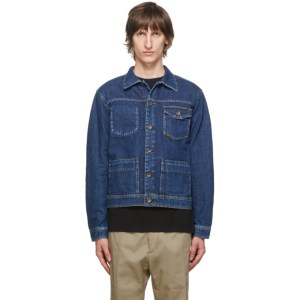 Tiger of Sweden Jeans Blue Denim Myth Jacket