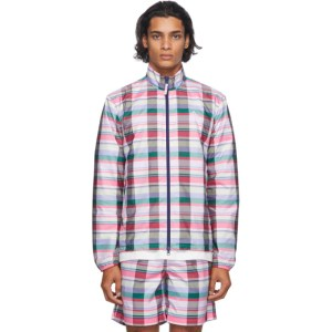 Noah Multicolor adidas Originals Edition Check Running Jacket