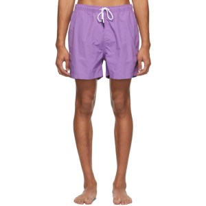 Solid and Striped Purple The Classic Swim Shorts