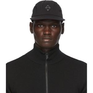 A-COLD-WALL* Black Rhombus Badge Cap