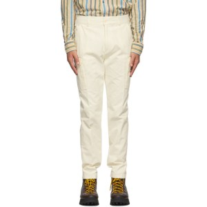 Aime Leon Dore Off-White Slim Cargo Pants