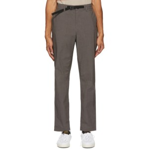 Saturdays NYC Grey Shaw Trousers