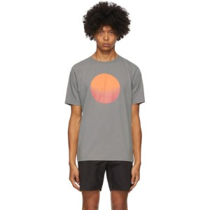 Saturdays NYC Grey Sunrise Sunset T-Shirt