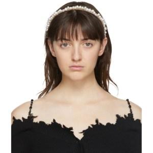 Shushu/Tong White Baroque Pearl Headband