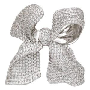 Shushu/Tong Silver YVMIN Edition Jewel Bow Earring